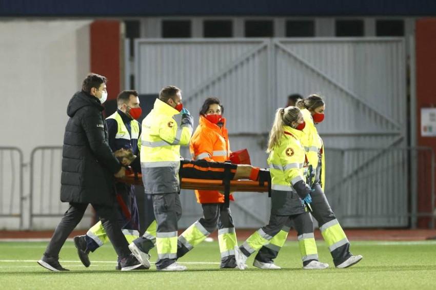 بليند تعرض للإصابة خلال مباراة هولندا وجبل طارق. (إي بي أيه)