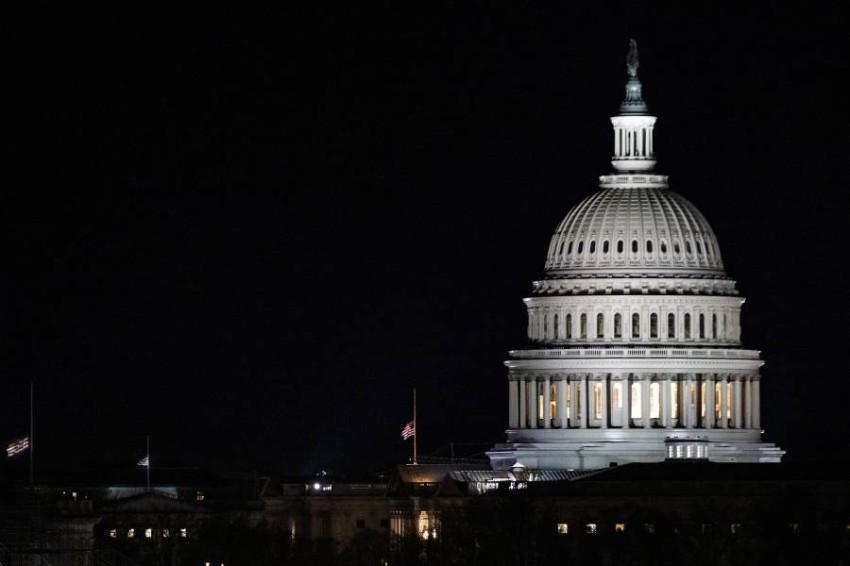 مسألة تامين مبنى الكابيتول نقاشاً ساخناً في الكونغرس في الأسابيع الأخيرة - أ ف ب.