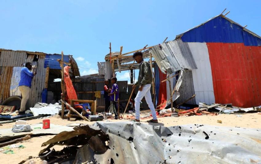 استهداف قاعدتين عسكريتين للجيش الصومالي - رويترز.