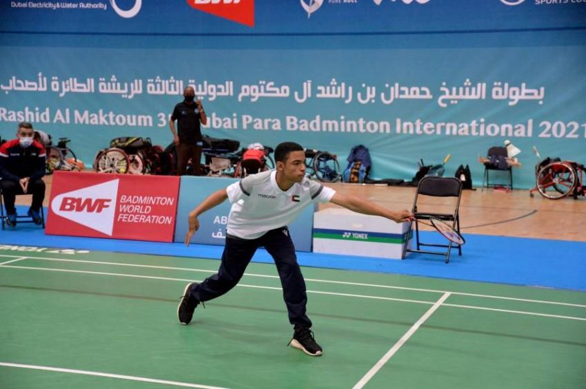 اللاعب الإماراتي حميد. (من المصدر)