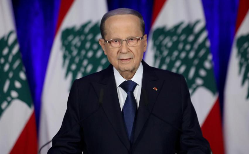 الرئيس اللبناني. (رويترز)