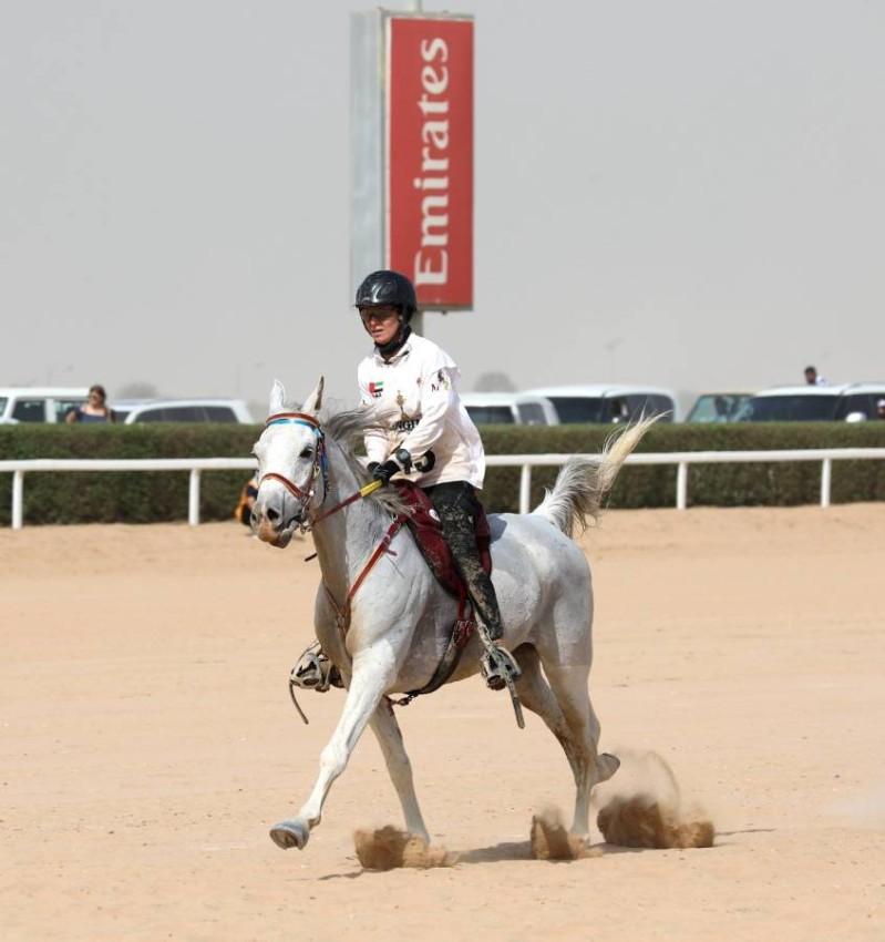 أيوليا بطلة السباق الرئيسي لكأس محمد بن راشد.