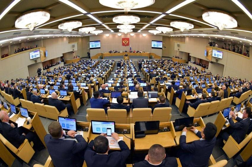 مجلس الدوما الروسي. (رويترز)