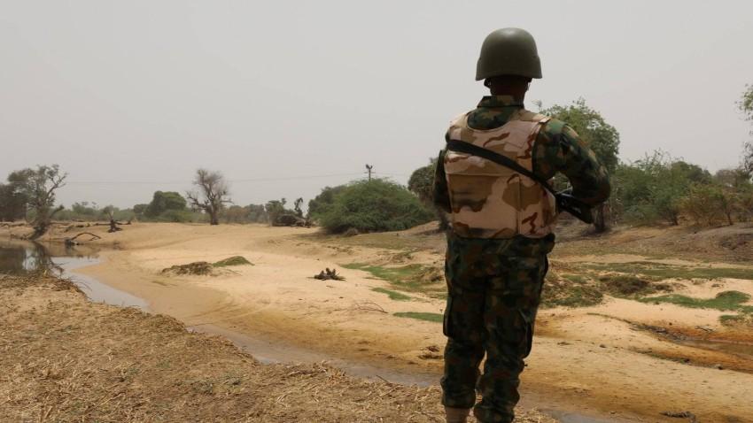 جندي نيجيري. (رويترز)