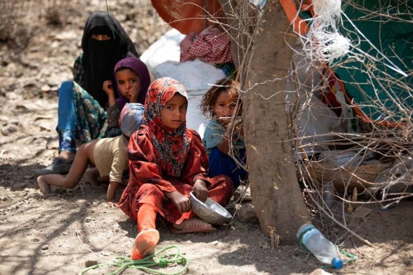 مدنيون من ضحايا الحرب في اليمن. (أ ف ب)