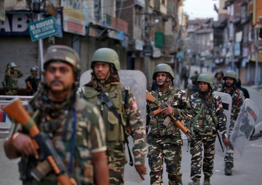 قوات أمن هندية. (رويترز - أرشيفية)