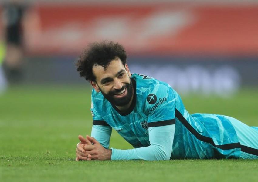 لاعب ليفربول محمد صلاح. (إي بي أيه)