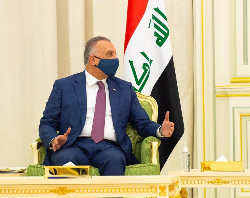 رئيس الوزراء العراقي مصطفى الكاظمي - EPA.