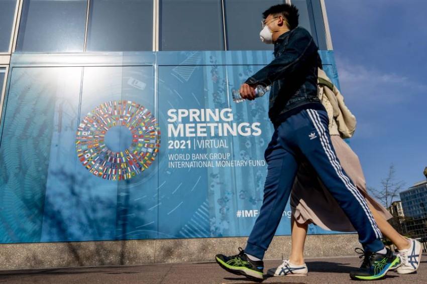 تعد هذه الاجتماعات منبراً يناقش فيه قادة الحكومات والمنظمات والخبراء مختلف التحديات العالمية.(أ ب)