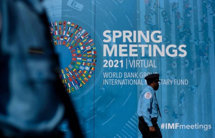 تعد هذه الاجتماعات منبراً يناقش فيه قادة الحكومات والمنظمات والخبراء مختلف التحديات العالمية. (أ ف ب)