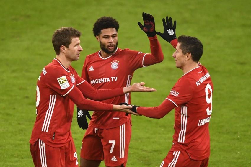 جدول ترتيب الدوري الألماني بعد نتائج مباريات الجولة 27 (غيتي)