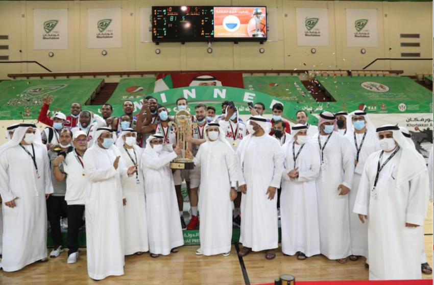 القرقاوي: سلة الشارقة وشباب الأهلي جديرة بتمثيل الإمارات «خليجياً وعربياً». (الرؤية)