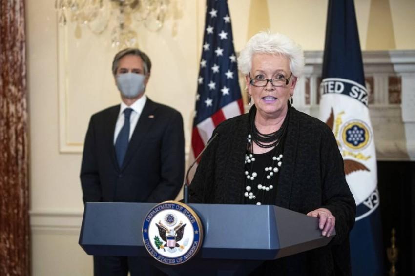 المنسّقة الأمريكية للاستجابة العالمية لفيروس كوفيد-19 غايل سميث - أب.