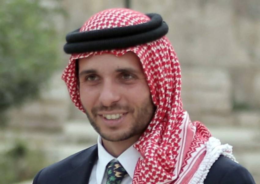 الأمير حمزة بن الحسين - أ ف ب.