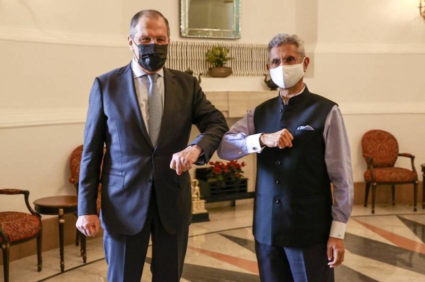 تعاون روسي-هندي لانتاج لقاحات كورونا.(رويترز)