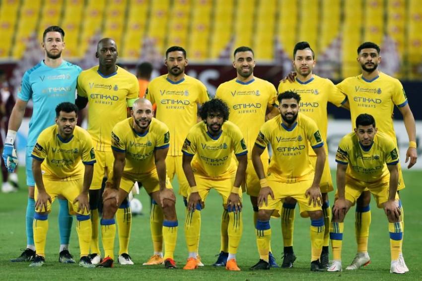 نادي النصر السعودي. (إ ب أ)