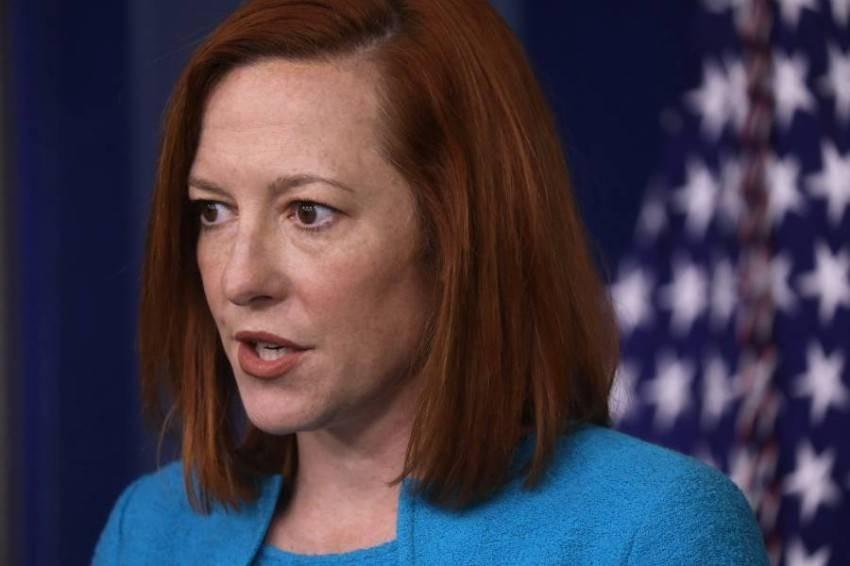 المتحدثة باسم البيت الأبيض جين ساكي - رويترز.