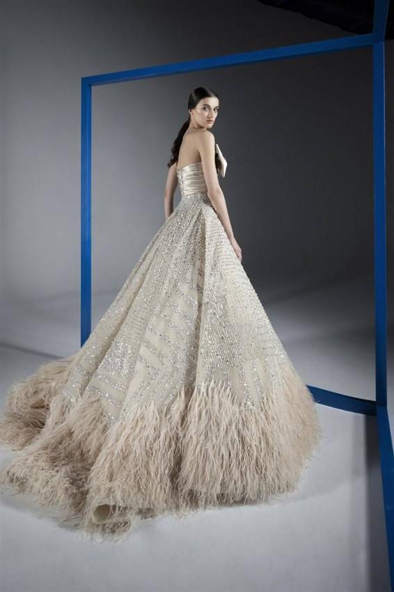 الفستان المنفوش من رامي قاضي