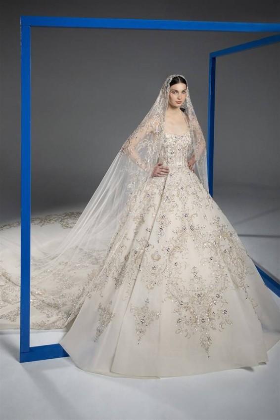 فستان الزفاف من رامي القاضي