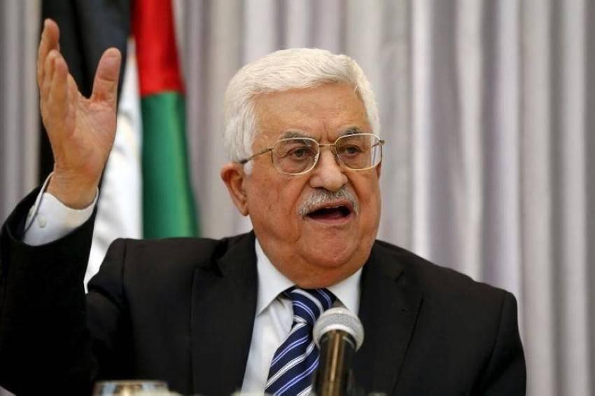 محمود عباس - رويترز.