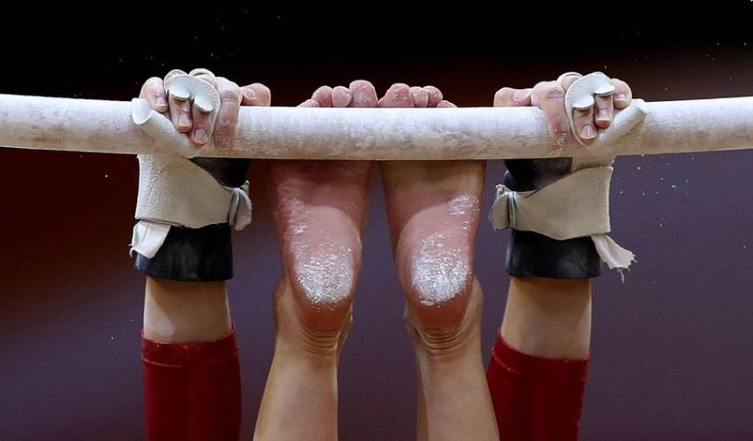 لاعبو جمباز يونانيون يتهمون مدربيهم بـ«التعذيب». (أ ف ب)