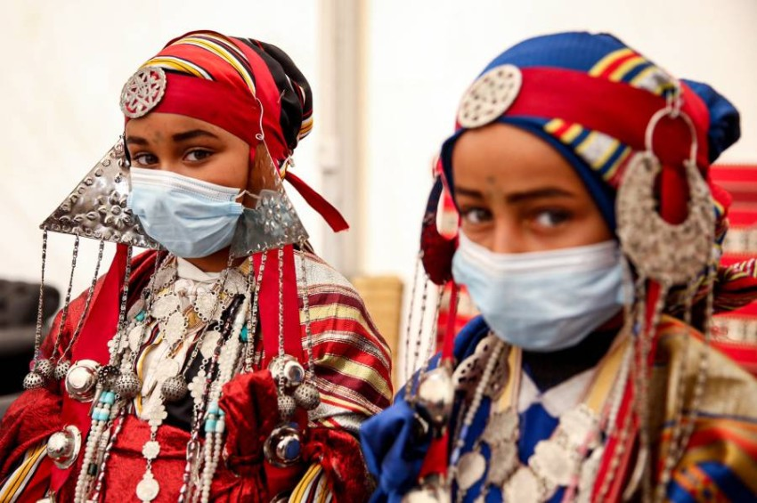 فرحة رمضان خاصمت عيون أطفال ليبيا خلال سنوات الحرب. (أ ف ب)