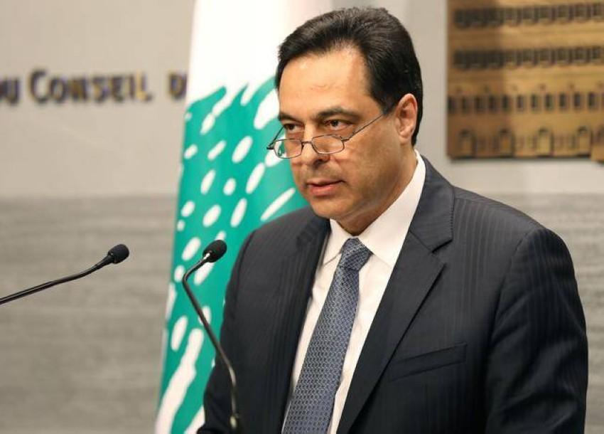 رئيس حكومة تصريف الأعمال اللبنانية. (رويترز)