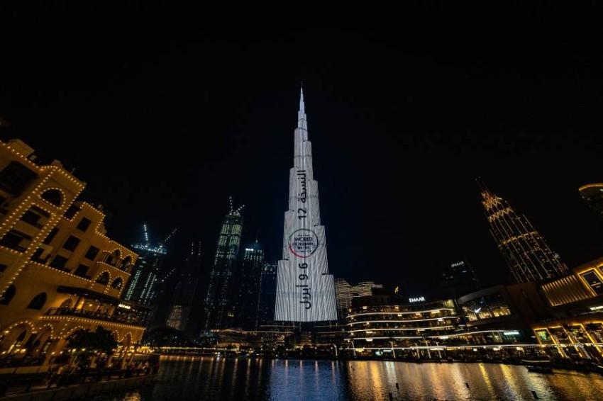 برج خليفة في دبي. (الرؤية)