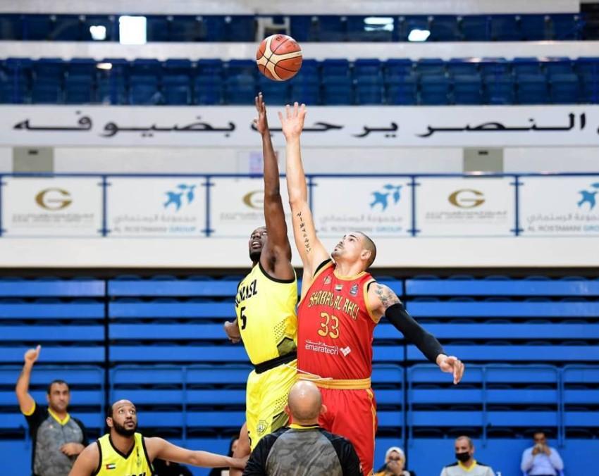 من منافسات سابقة في السلة الإماراتية. (من المصدر)