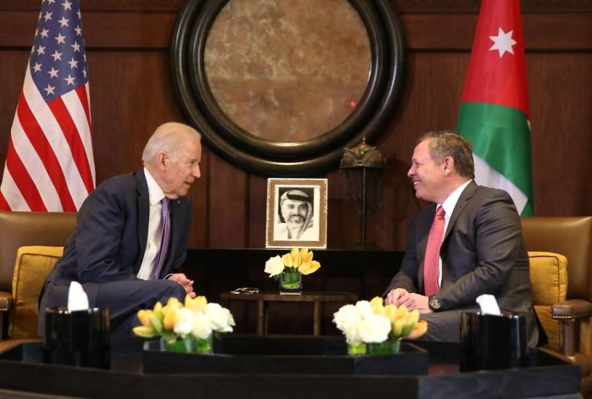 شراكة استراتيجية ممتدة بين الاردن والولايات المتحدة.(أ ف ب)