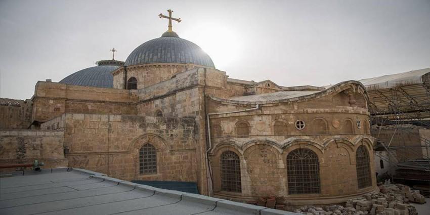 كنيسة القيامة في مدينة القدس. (أرشيف)