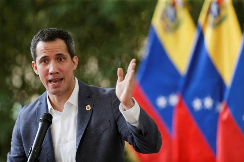 زعيم المعارضة الفنزويلية. (رويترز)
