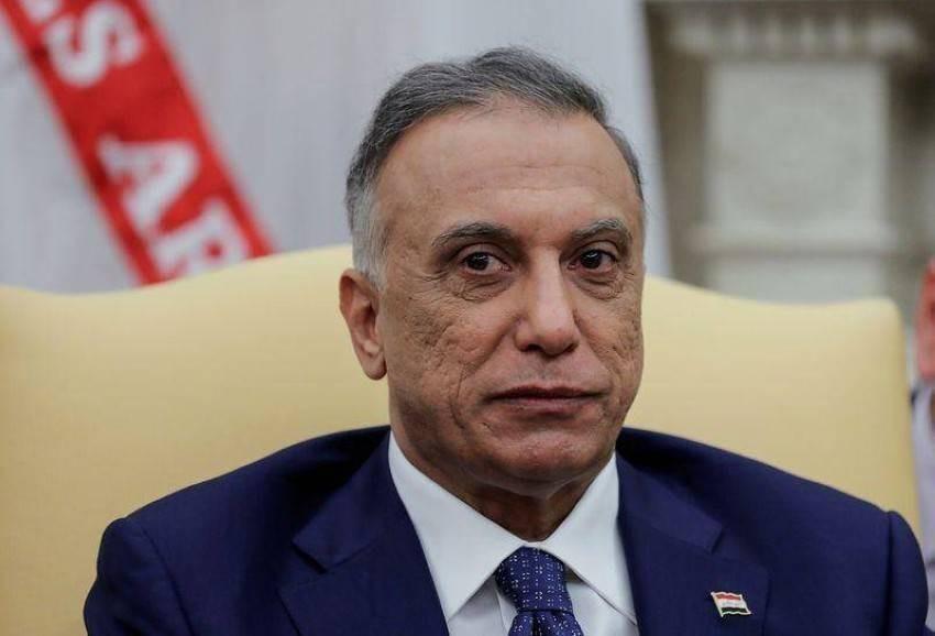 رئيس الحكومة العراقية مصطفى الكاظمي - أرشيفية.