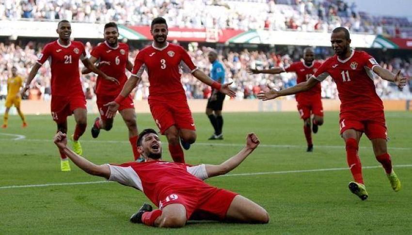 منتخب الأردن. (رويترز)