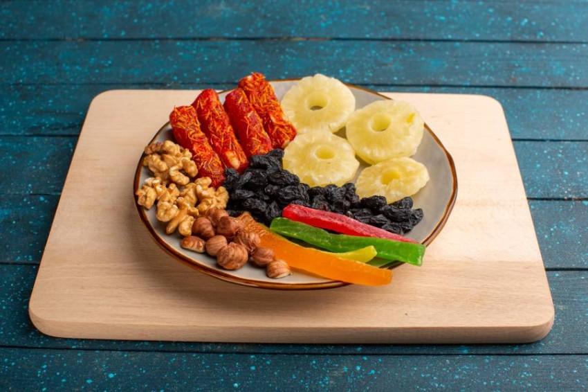 فوائد الفواكه المجففة في رمضان