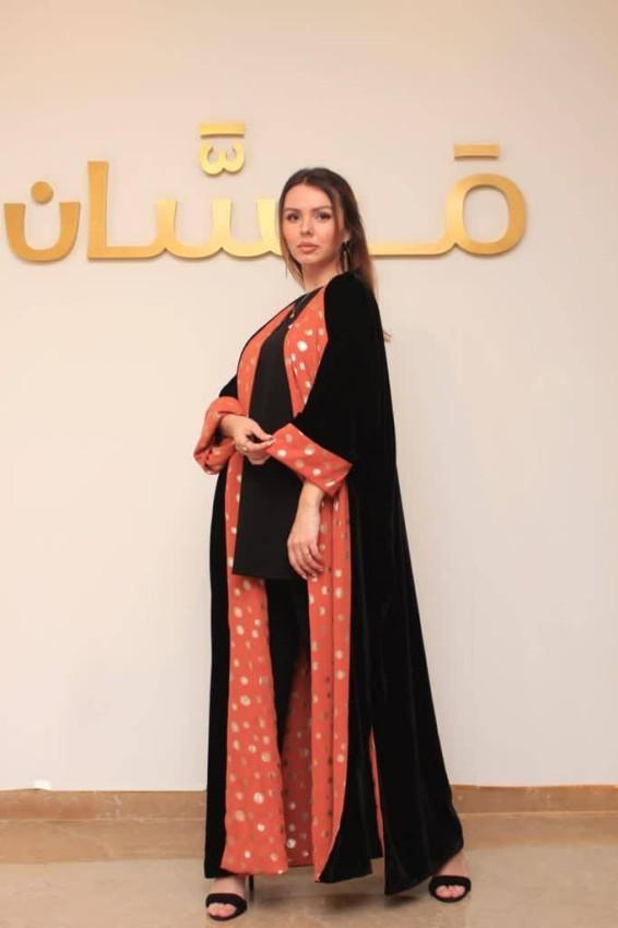 مجموعة عبايات رمضانية من مصممة الأزياء سماح سيف