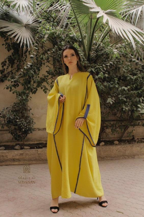 موديلات أزياء محتشمة للعبايات من سماح سيف