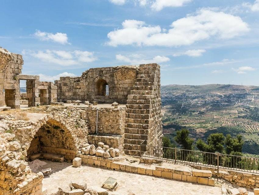 قلعة عجلون الأردن