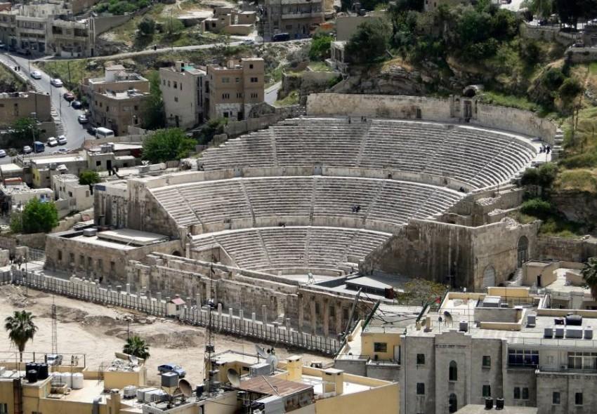 المدرج الروماني في العاصمة الأردنية عمان