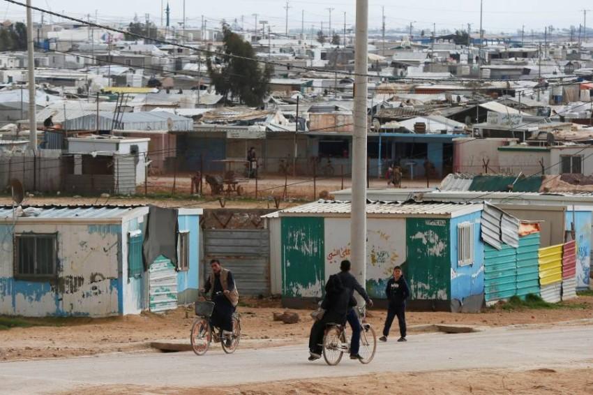 يقدم الأردن العديد من التسهيلات التي تصب في مصلحة اللاجئين وتأسيس حياة كريمة لهم - رويترز.