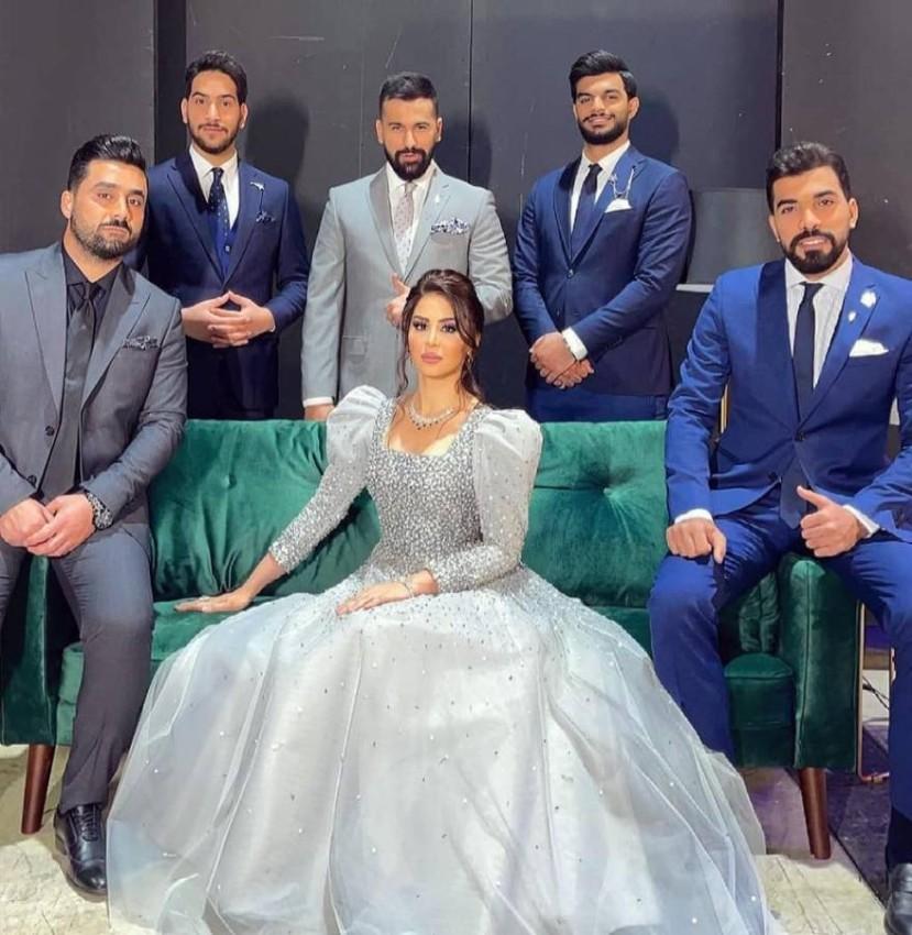 ميس عنبر مع آخر 5 متأهلين من عراق ايدول