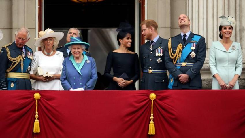 العائلة المالكة متحدة من ناحية المشاعر الحزينة بعد وفاة الأمير فيليب - رويترز.