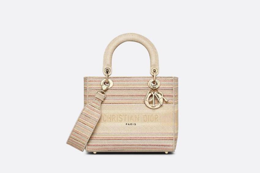 حقيبة ديور الذهبية