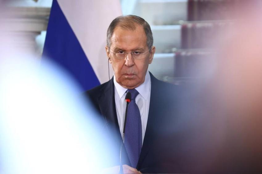 وزير الخارجية الروسي سيرجي لافروف - رويترز.