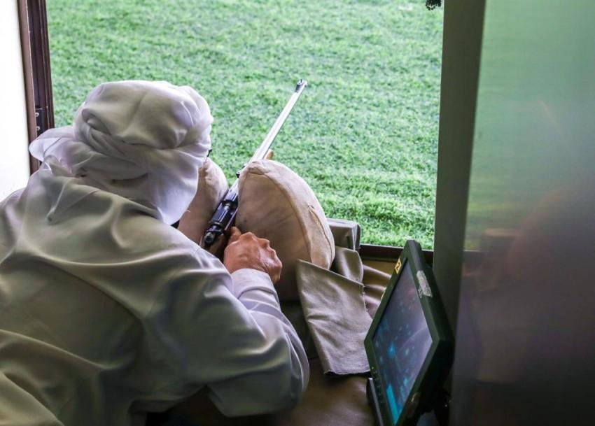 نادي الظفرة يختتم بطولة حمدان بن زايد للرماية في مدينة زايد. (الرؤية)