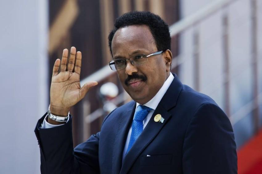 الرئيس الصومالي محمد عبدالله فرماجو - أب.