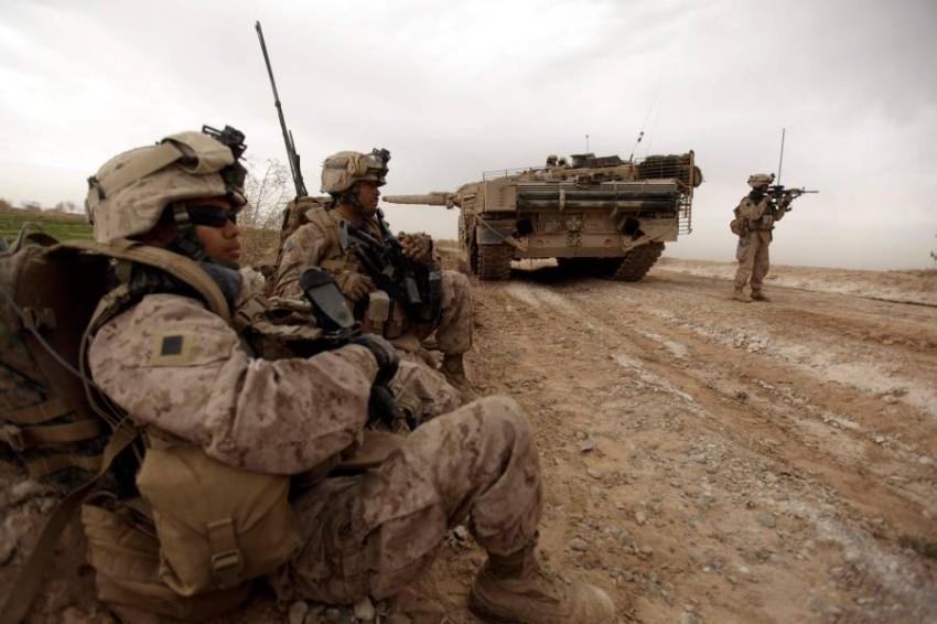 وتدخلت الولايات المتحدة في أفغانستان غداة اعتداءات 11 سبتمبر 2001 - أ ف ب.