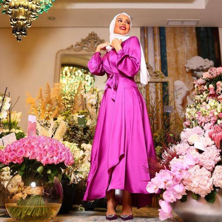 إطلالة مرمر محمد في أول يوم رمضان 2021.
