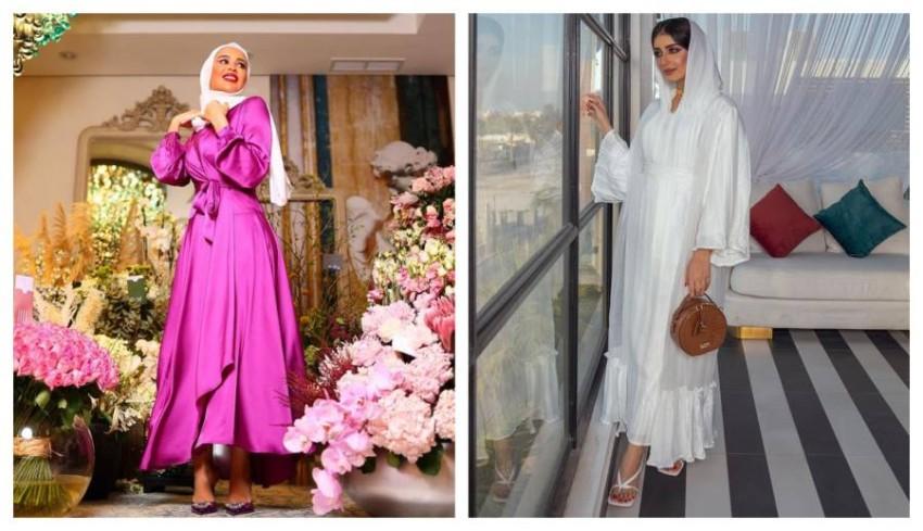 إطلالات مدونات الموضة في أول يوم رمضان 2021