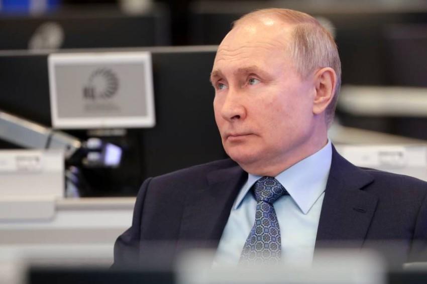 فلاديمير بوتين. (أ ب)